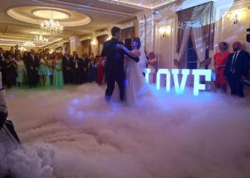 Ciężki dym pierwszy taniec